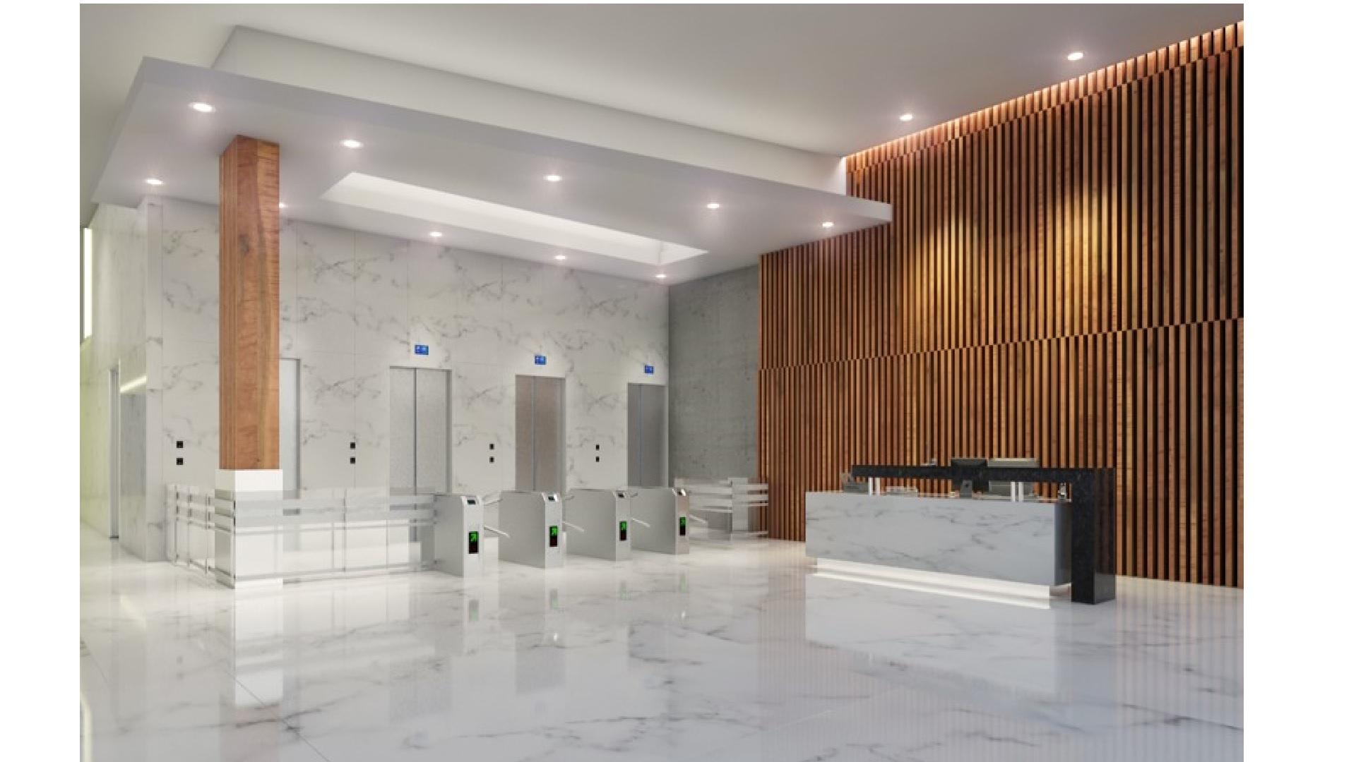 Lobby Atlantic Oficinas barranquilla 2 w